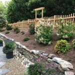 Retaining Wall, Stepping Stone Walkway, Landscape Installation