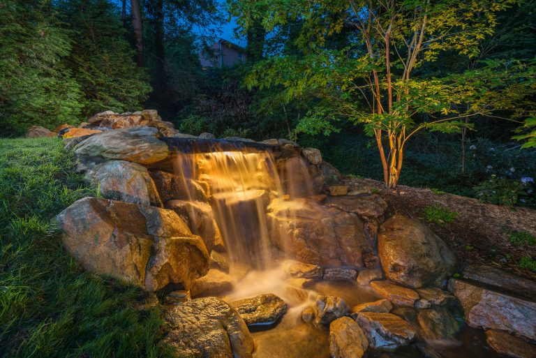 Water Feature Lighting - Exterior Lighting