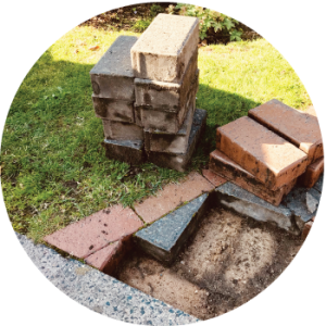 Restoration - Paver Repair